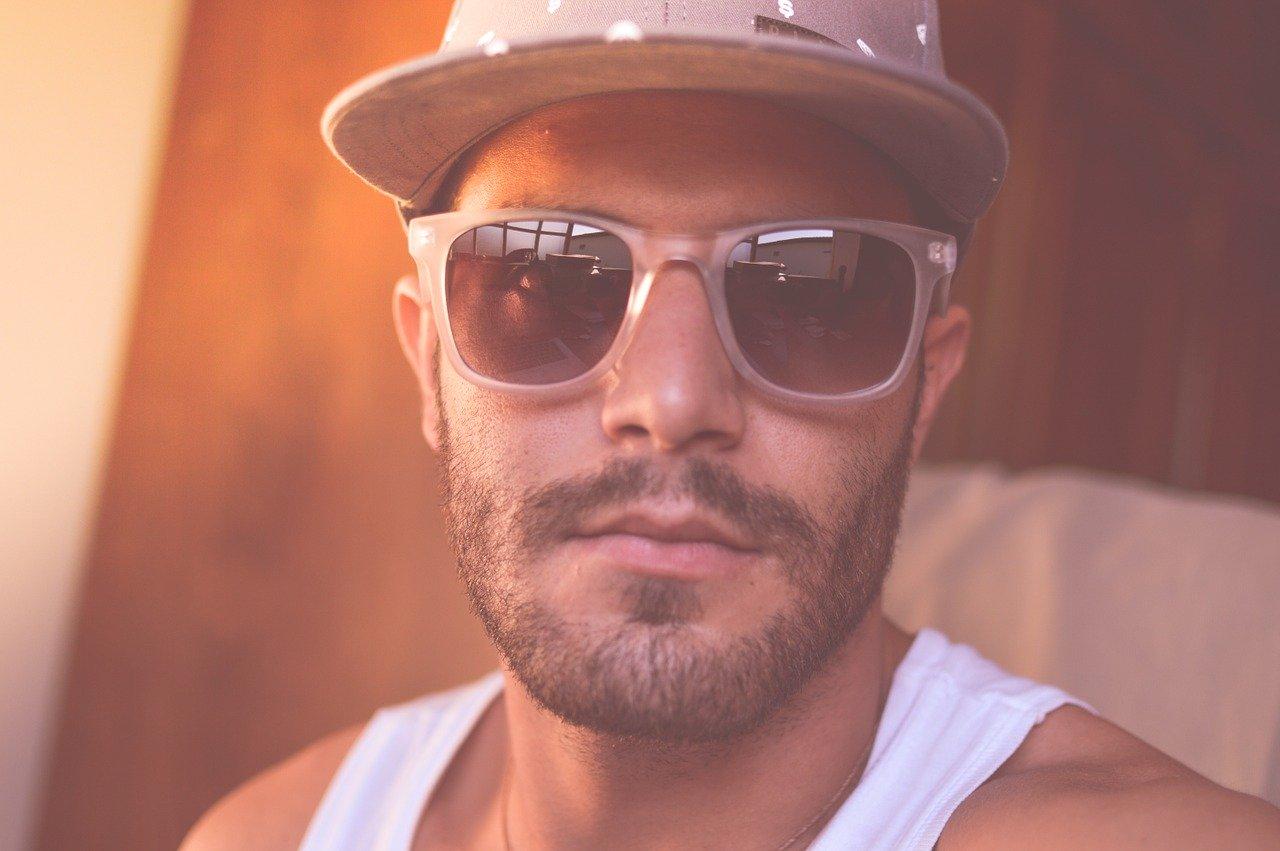 man, person, sunglasses